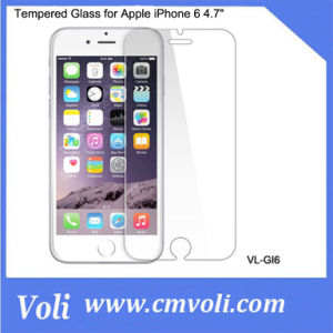 "Premium Tempered Glass Screen Protector for Apple iPhone 6 4.7"" pictures & photos"
