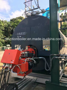 ASME 8 Ton/Hr Gas, Oil, Dual Fuel Steam Boiler with European Burner pictures & photos