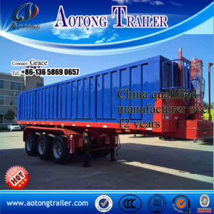 Hydraulic Tipper Trailer / Dump Trailer for Tractor Head pictures & photos