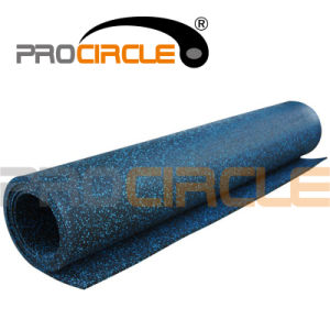 Crossfit Indoor Playground Rolled EPDM Rubber Flooring Mat (PC-FT1030) pictures & photos