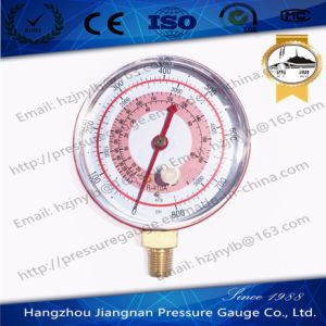 70mm 800psi Vibration Free Refrigeration Pressure Gauge for R-410A pictures & photos