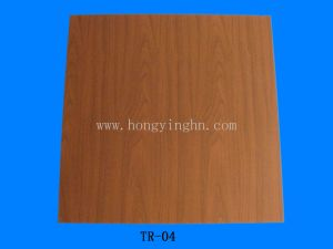 600*600*7mm PVC False Ceiling Tile pictures & photos