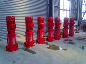 High Efficiency Vertical Multistage Firefighting Centrifugal Water Pump pictures & photos