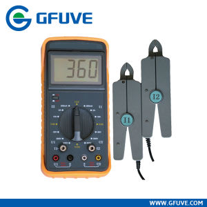 GF211 Electrical Double Clamp Portable Phasor Meter pictures & photos
