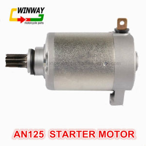Ww-8838 AC 12V Motorcycle Parts Starter Motor for An125 pictures & photos