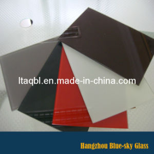 Silk Screen Print Painted Tempered Glass with Various Colour