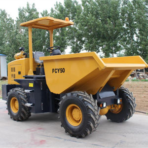 Factory Supply 5.0ton Front Tipper Site Dumper pictures & photos