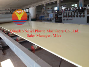 PVC Foam Board Processing Line pictures & photos