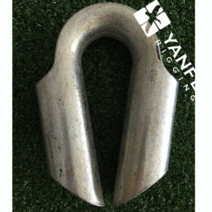 Carbon Steel Wire Rope Thimble with a Good Price pictures & photos