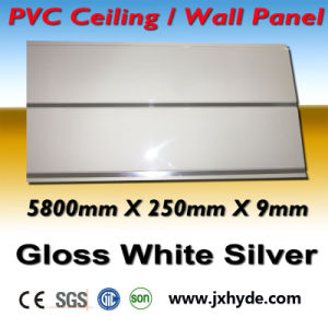 9*250mm Decoration PVC Panel Ceiling Wall Panel with Construction Material pictures & photos