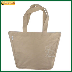 Customize Blank Natural Recycled Cotton Tote Bag (TP-TB040) pictures & photos