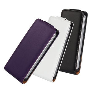 Luxury Leather PU Flip Case for Sony