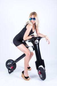 Folding Power Seat Mountain E-Bike