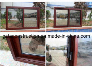 Sliding Window Aluminium Slide Windows with Toughed Glass pictures & photos