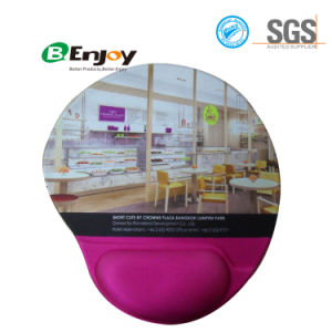 Mouse Pad Gel Wrist Rest with Custom Logo Printing pictures & photos