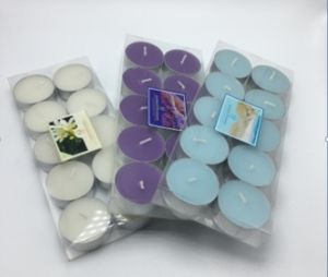 Various Color Tea Light Packaged in Blister Box pictures & photos