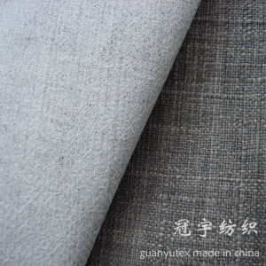 Slub Linen 100% Polyester with Fr Treatment for Sofa pictures & photos