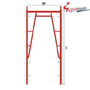Walk Through Frame-Snap on Lock for Scaffolding pictures & photos
