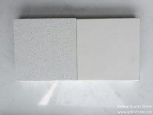 Pure White Quartz Stone Tile / Quartz Stone for Flooring pictures & photos