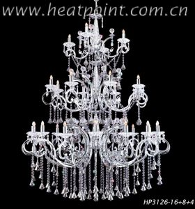 Project Crystal Chandelier (HP3126-16+8+4)