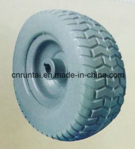 Factory Supply 9 Inches Competitive Price PU Foam Wheel pictures & photos