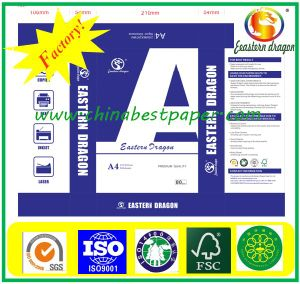 106% High Brightness Copy Paper (copy paper 70-80g) pictures & photos