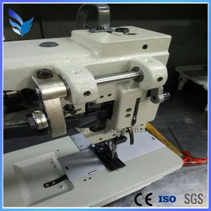 Single Needle Compound Feed Lockstitch Sewing Machine with Auto Thread (GC1510N/GC1510N-7) pictures & photos