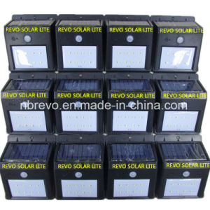 8LED Solar Powered PIR Motion Sensor Wall Light (RS2003-8) pictures & photos