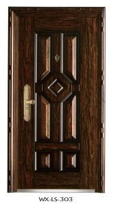 Luxury Steel Door (WX-LS-303) pictures & photos