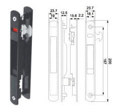 Window Lock (WL-07) for Aluminum Sliding Window pictures & photos