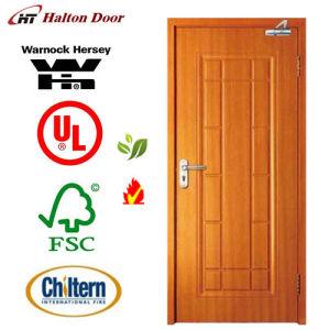 Fire Door/Wooden Fire Proof Doors with Britain BS Standard Certified/Wooden Door
