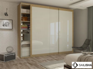 Modern Nordic Home Bedroom Hotel Furniture Wood Closets Wardrobe pictures & photos