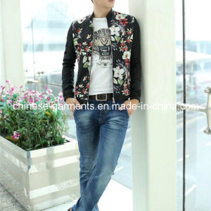 Wholesale Fashion Floral Printing Men Jackets