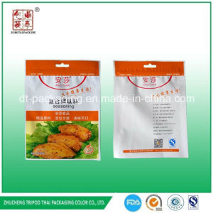 VMPET Foil Material Ziplock Roasted Wings Seasoning Packaging