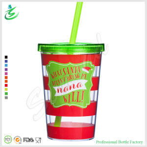 12oz Double Wall Promotional Acrylic Tumbler for Christmas (TB-A1) pictures & photos