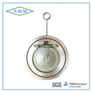 Thin Type Single Disc Swing Check Valve with Spring pictures & photos