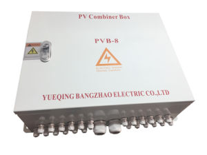 Four Solar Inputs DC Combiner Box with Iron Plastic Box pictures & photos
