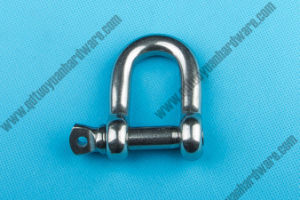 European Type Large Dee Shackle Stainless Steel Marine Hardware pictures & photos