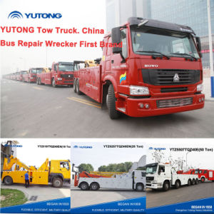 Yutong New 19 / 25 / 50 Ton Tow Truck