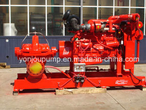 Horizontal Split Case Diesel Engine Fire Fighting Centrifugal Pump pictures & photos
