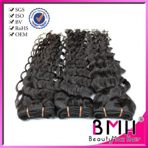 Queen Hair Indian Virgin Hair Jerry Curl with Thick Bottom Natural Color (Yuki069)