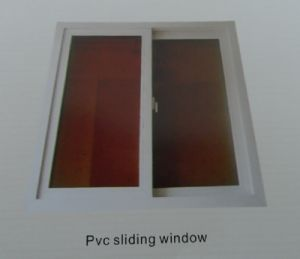 Cheap Price PVC Sliding Window pictures & photos