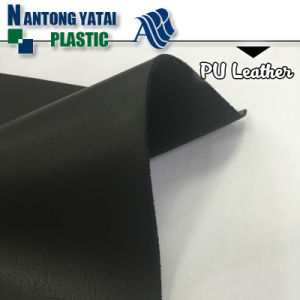 Hot Promotional PU Coating Shoe Lining Leather pictures & photos