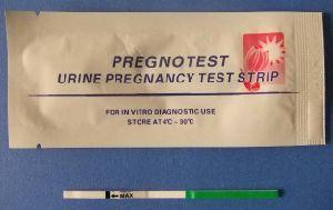 HCG Pregnancy Test Strip for Pregnancy pictures & photos