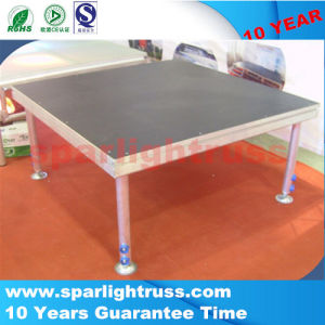 Wholesale Quality Portable Fashion Show Stage with Wooden Platform pictures & photos
