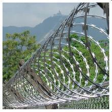 Chip Price 2.5mm Diameter Hot Dipped Galvanized Metal Steel Razor Blade Wire pictures & photos