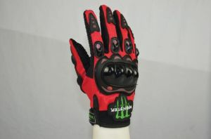 Monster Energy motorcycle Knight Racing Cycling Sports Gloves pictures & photos
