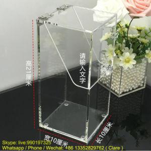 Transparent Acrylic Brush Cosmetics Boxes pictures & photos