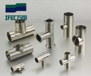 Sanitary Stainless Steel Tee (IFEC-ST100002) pictures & photos