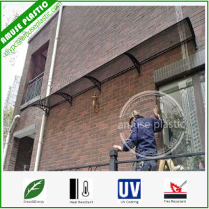 Promotional  Waterproof Sunshade  Multi-Connected Unbreakable Ge Polycarbonate Outdoor Shutter Awning pictures & photos